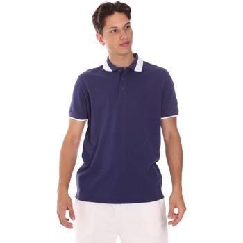 tekstylia Męskie Koszulki polo z krótkim rękawem Invicta 4452240/U Niebieski