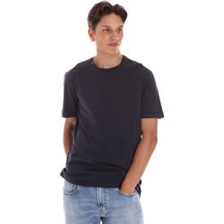 tekstylia Męskie T-shirty z krótkim rękawem Ciesse Piumini 215CPMT01455 C2410X Czarny
