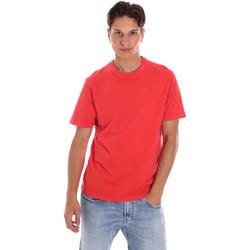 tekstylia Męskie T-shirty z krótkim rękawem Ciesse Piumini 215CPMT01455 C2410X Czerwony