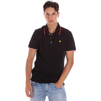 tekstylia Męskie Koszulki polo z krótkim rękawem Ciesse Piumini 215CPMT21423 C2510X Czarny
