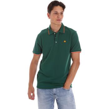 tekstylia Męskie Koszulki polo z krótkim rękawem Ciesse Piumini 215CPMT21423 C2510X Zielony