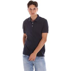 tekstylia Męskie Koszulki polo z krótkim rękawem Ciesse Piumini 215CPMT21454 C0530X Niebieski