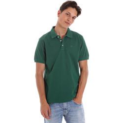 tekstylia Męskie Koszulki polo z krótkim rękawem Ciesse Piumini 215CPMT21454 C0530X Zielony