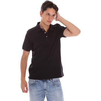 tekstylia Męskie Koszulki polo z krótkim rękawem Ciesse Piumini 215CPMT21454 C0530X Czarny