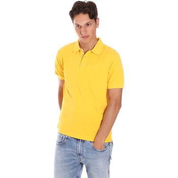 tekstylia Męskie Koszulki polo z krótkim rękawem Ciesse Piumini 215CPMT21454 C0530X Żółty