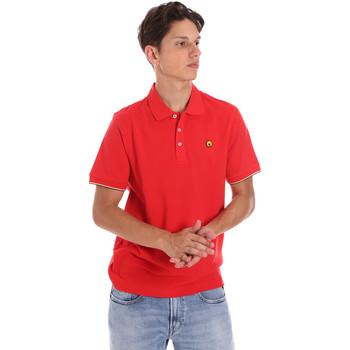 tekstylia Męskie Koszulki polo z krótkim rękawem Ciesse Piumini 215CPMT21424 C0530X Czerwony