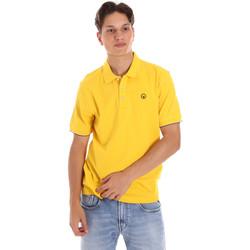 tekstylia Męskie Koszulki polo z krótkim rękawem Ciesse Piumini 215CPMT21424 C0530X Żółty