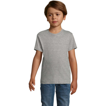 tekstylia Chłopiec T-shirty z krótkim rękawem Sols REGENT FIT CAMISETA MANGA CORTA Gris