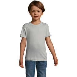 tekstylia Dziecko T-shirty z krótkim rękawem Sols REGENT FIT CAMISETA MANGA CORTA Gris