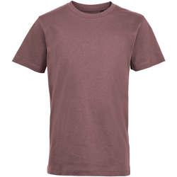 tekstylia Dziecko T-shirty z krótkim rękawem Sols REGENT FIT CAMISETA MANGA CORTA Rosa