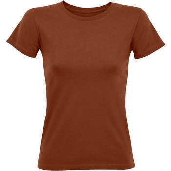 tekstylia Damskie T-shirty z krótkim rękawem Sols REGENT FIT CAMISETA MANGA CORTA Otros