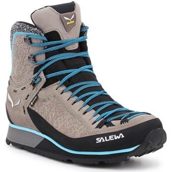Buty Damskie Trekking Salewa Ws Mtn Trainer 2 Winter GTX 61373-7950 szary, niebieski