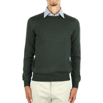tekstylia Męskie Swetry La Fileria 14290 55167 Zielony
