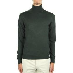 tekstylia Męskie Swetry La Fileria 14290 55157 Zielony
