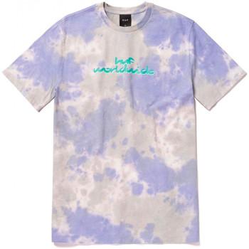 tekstylia Męskie T-shirty z krótkim rękawem Huf T-shirt chemistry ss Fioletowy