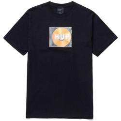 tekstylia Męskie T-shirty z krótkim rękawem Huf T-shirt mix box logo ss Czarny