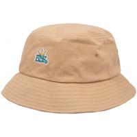 Dodatki Męskie Kapelusze Huf Cap crown reversible bucket hat Brązowy
