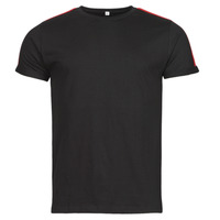 tekstylia Męskie T-shirty z krótkim rękawem Yurban  Czarny