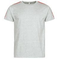 tekstylia Męskie T-shirty z krótkim rękawem Yurban  Szary