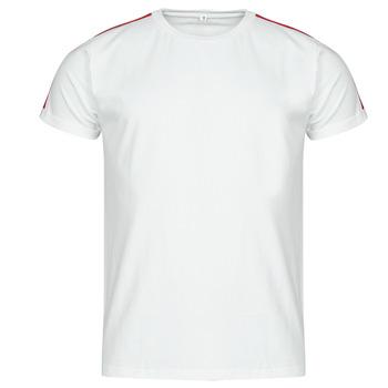tekstylia Męskie T-shirty z krótkim rękawem Yurban  Biały