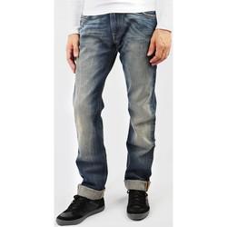 tekstylia Męskie Jeansy straight leg Lee Zed L71742RT niebieski