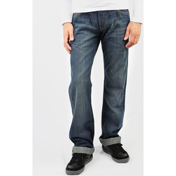 tekstylia Męskie Jeansy straight leg Lee Dexter L707OECO niebieski