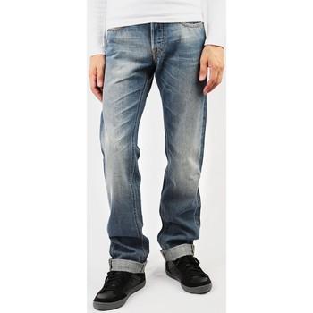 tekstylia Męskie Jeansy straight leg Lee Blake L708CRCH niebieski