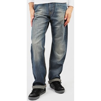 tekstylia Męskie Jeansy straight leg Lee Kent L72042RO niebieski