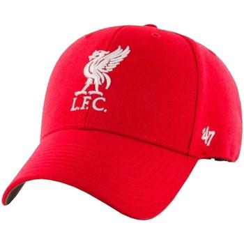 Dodatki Męskie Czapki z daszkiem 47 Brand EPL FC Liverpool Cap Czerwony