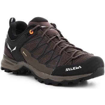 Buty Męskie Trekking Salewa Buty trekkingowe  Mtn Trainer Lite GTX 61361-7512 brązowy