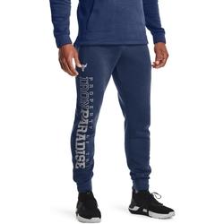 tekstylia Męskie Spodnie dresowe Under Armour UA Pjt Rock Niebieski