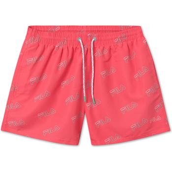 tekstylia Męskie Kostiumy / Szorty kąpielowe Fila 688430 Różowy