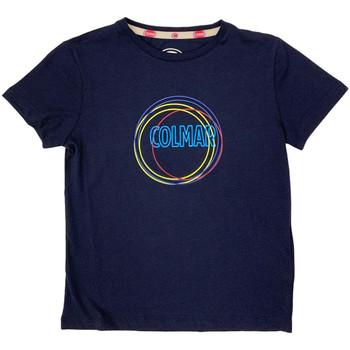 tekstylia Dziecko T-shirty z krótkim rękawem Colmar 3514 7TQ Niebieski