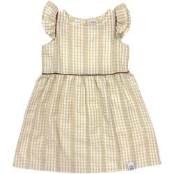 tekstylia Dziewczynka Sukienki krótkie Naturino 6001014 01 Beżowy