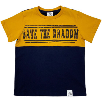 tekstylia Dziecko T-shirty z krótkim rękawem Naturino 6001018 01 Niebieski