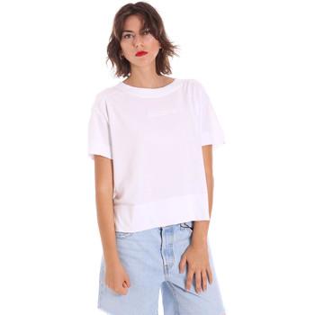 tekstylia Damskie T-shirty z krótkim rękawem Invicta 4451248/D Biały