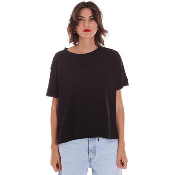 tekstylia Damskie T-shirty z krótkim rękawem Invicta 4451248/D Czarny