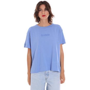 tekstylia Damskie T-shirty z krótkim rękawem Invicta 4451248/D Niebieski