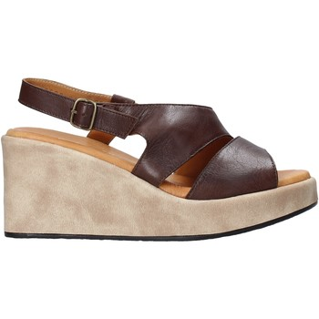 Buty Damskie Sandały Sshady L2502 Brązowy