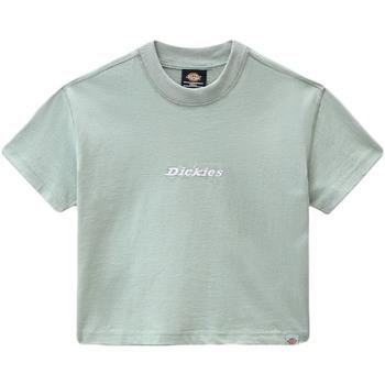 tekstylia Damskie T-shirty z krótkim rękawem Dickies DK0A4XBAB871 Zielony
