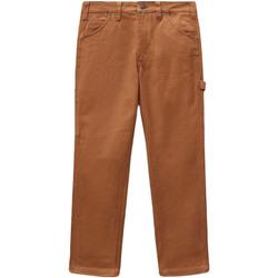 tekstylia Damskie Spodnie z pięcioma kieszeniami Dickies DK0A4XJHBD01 Brązowy