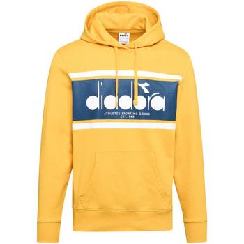 tekstylia Męskie Bluzy Diadora 502173625 Żółty