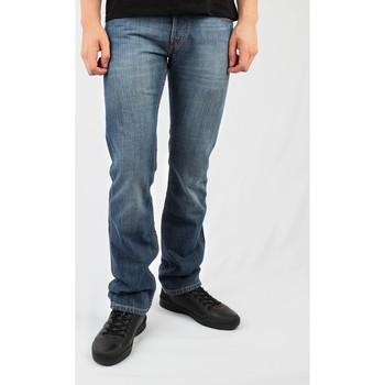 tekstylia Męskie Jeansy straight leg Lee Knox L7132170 niebieski