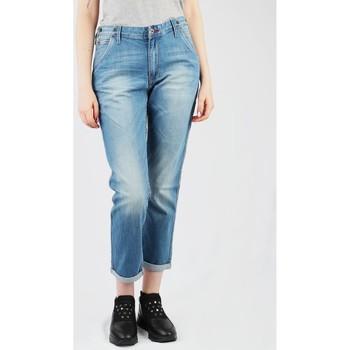 tekstylia Damskie Jeansy slim fit Lee Logger L315DOET niebieski