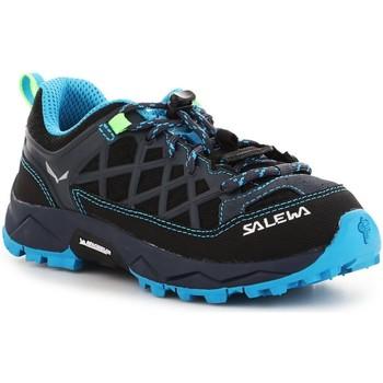 Buty Dziecko Trekking Salewa Buty trekkingowe  Jr Wildfire 64007-3847 niebieski, granatowy