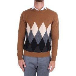 tekstylia Męskie Swetry Ballantyne T2P000 7K0A8 Wielokolorowy