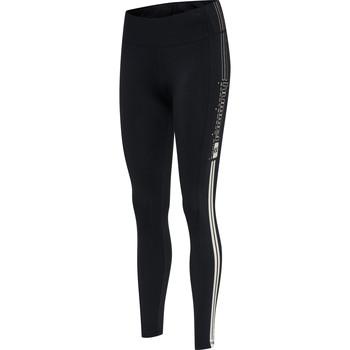 tekstylia Damskie Legginsy Hummel Legging femme  hmlLGC blair mw noir