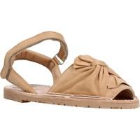 Buty Dziewczynka Sandały Ria 20090 27167A Brązowy