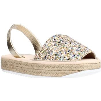 Buty Dziewczynka Sandały Ria 21920 21224 Złoto