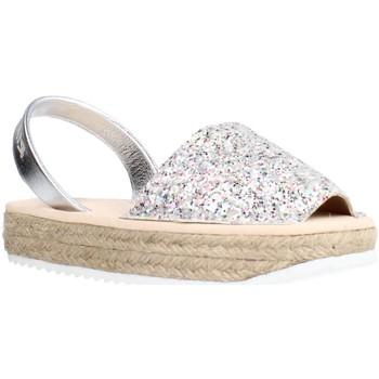 Buty Dziewczynka Sandały Ria 21920 21224 Srebrny